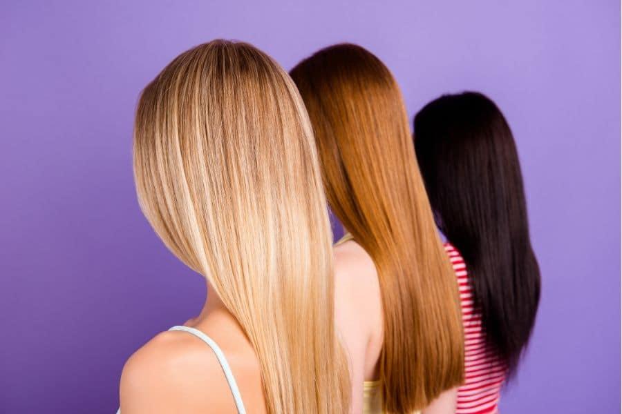 choix de shampoing selon cheveux colorés