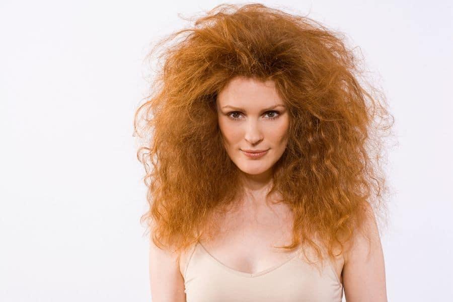cheveux à lisser