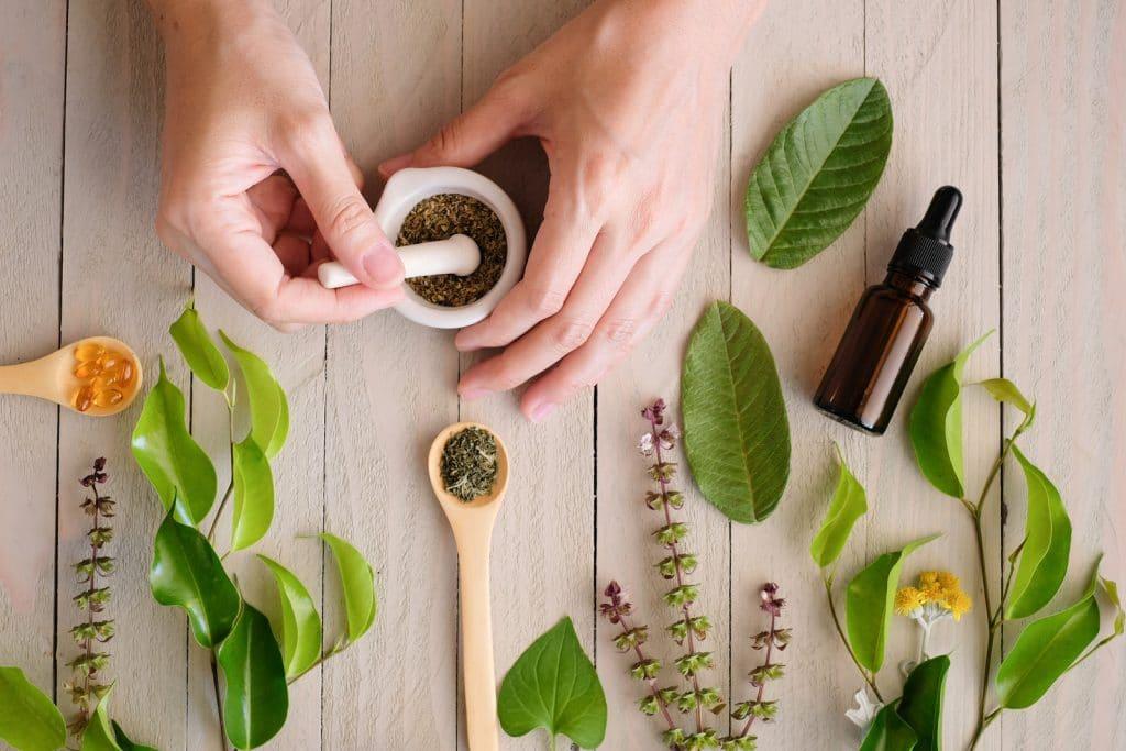 shampoing à base de produits naturels et bio par Léa Nature
