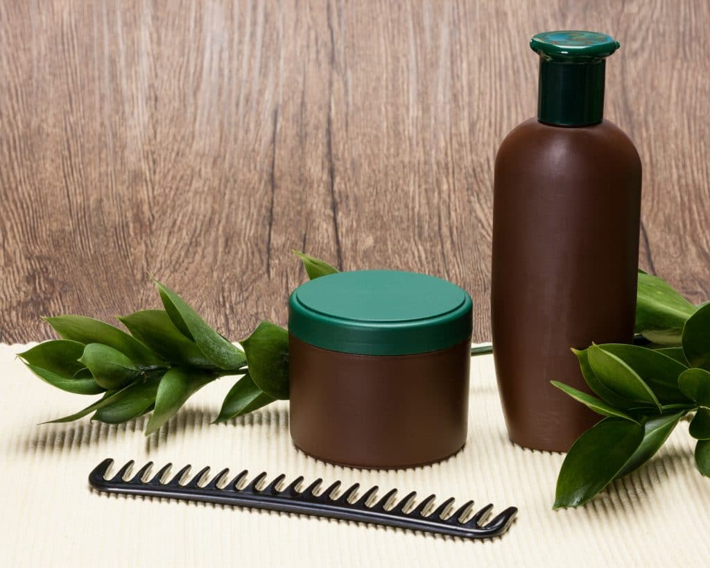 Shampoing et après-shampoing assortis