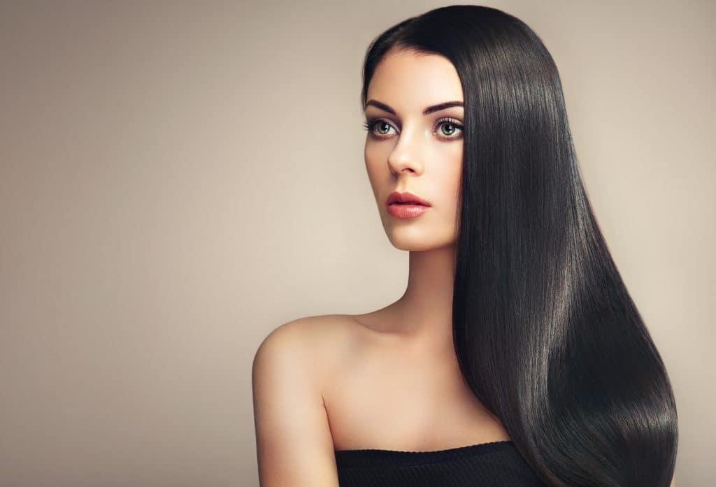 Cheveux après utilisation de lisseur