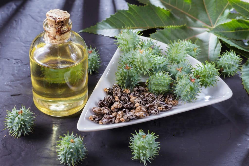 L'huile de ricin favorise la pousse des cheveux