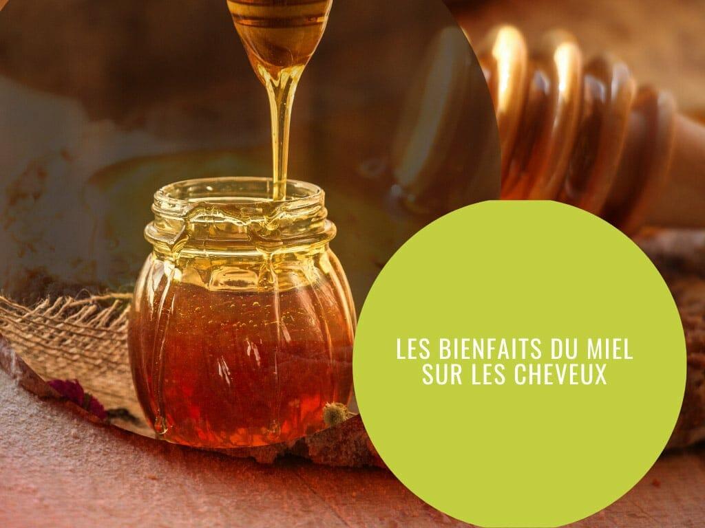 bienfaits du miel sur les cheveux