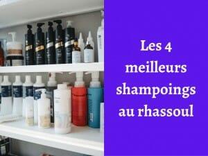 Quels sont les meilleurs shampoings au rhassoul ?