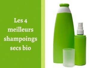 Où trouver les meilleurs shampoings secs bio ?